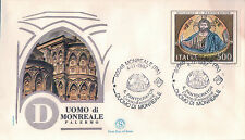FDC ITALIA PRIMO GIORNO DI EMISSIONE 1987 DUOMO DI MONREALE PALERMO  7-12