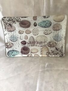 Michel Design Works Nest And Eggs Rectangular Glass Soap Dish