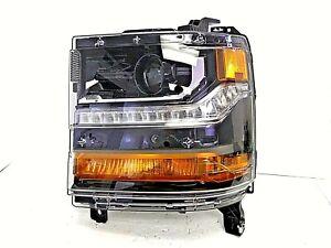 2016-2019 CHEVROLET SILVERADO 1500 LH DRIVER'S SD HID HEAD LIGHT OEM# 84388629