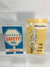 RARE Old Vintage SCHWINN 1970 Safety And Tire Care Guide Book Pamphlets