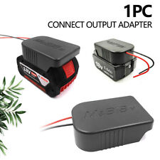 For Makita/Bosch 18V Li-Ion Battery Convert To Cable Connect Output Adapter