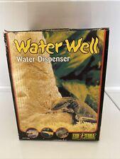 Reptile water dispenser