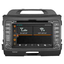 Autoradio Stereo DVD GPS Navigation  Headunit Satnav for KIA Sportage 2010-2014