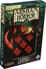 Arkham Horror Cursed Dice Set Red & White Board Game