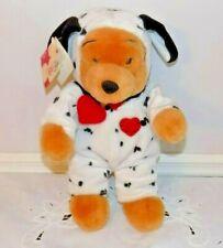 Disneystore Winnie-the-Pooh 13 in Dalmatian Plush Bear w/Tag