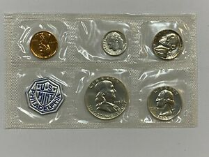 1959 US MINT PROOF COIN SET w/o OGP - 90% SILVER