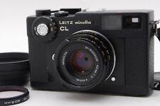 【Exc+++】 LEITZ MINOLTA CL Film Camera w/M Rokkor 40mm F2 From Japan #1599