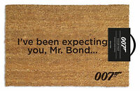 James Bond - Expecting - Fußmatte, Größe: 60 x 40 cm, Material Kokosfaser