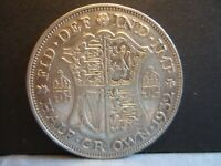 Half Crown 50% SILVER GEORGE V Choose Year 1920-1935 F to VF Condition!
