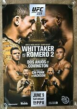 Official UFC 225 Whittaker vs Romero Poster 27x39 (Near Mint)