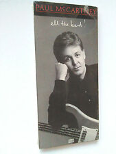 Paul McCartney ALL THE BEST cd'87 NEW LONGBOX(long box.Greatest Hits)The Beatles
