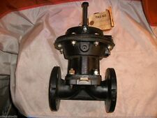 """SAUNDERS 1-1/2"""""""" TYPE A FLANGED ACTUATED DIAPHRAGM VALVE 3443-402-Ew/P1 TS"""
