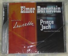 LAURETTE/PRINCE JACK (Elmer Bernstein) rare factory sealed ltd.ed. cd (2008) OOP