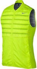 Mens Nike Golf AEROLOFT VEST -Volt -Retail $190 -801891 702 -Sz L -NWT