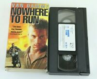 Nowhere To Run Van Damme VHS Robert Harmon Rosanna Arquette 1993 90s Action