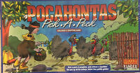 VTG Counting Game POCAHONTAS Turkeys Pick A Peck Harvest Counting Age 3+ 1994