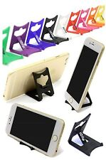 iPhone 6 Gold Holder: BLACK iClip Folding Travel Desk Display Stand