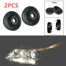 1 Pair of 80mm Car Headlight Dust Cover Rubber For LED HID Xenon Lamp Retrofit