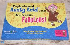 LEANIN TREE Aunty Acid Freakin' Fabulous 20 Greeting Cards Asstmt~#90771~Humor~