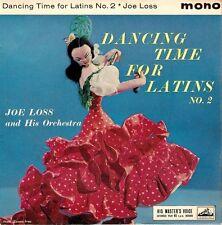 "JOE LOSS Dancing Time For Latins No.2 EP 7"" Single Vinyl Record HMV 1962 EX"
