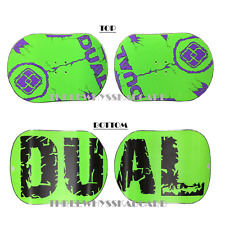 Dual brand Snowboards Classic set of 2pc two color selections