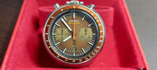 Vintage Seiko BullHead Brown Dial 6138-0040 Chronograph Watch 1977