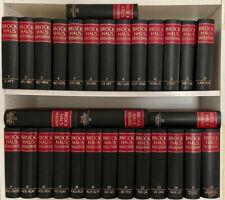 Brockhaus Enzyklopädie 19. Auflage in 30 Bänden Halbleder mit Goldschnitt