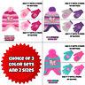 Nickelodeon Little Girls Paw Patrol Hat & 2 Pair Mittens/Gloves Cold Weather Set
