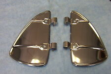 Vent window Breeze Breezies Airflow Deflectors stainless Steel  Ford Chevy