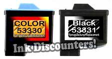 Primera Bravo Optivault 53330 Color & 53331 Black Cartridges - Combo Pack