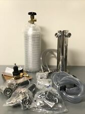 New 2 Keg Tap Kegerator Conversion Kit Draft Beer Tower Taprite Dk30cp Ss 02