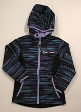 Free Country NWT Youth Girls Soft Shell Lined Jacket Hooded Black SIZE  4 5-6
