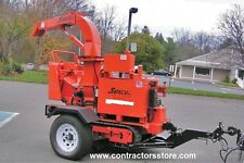 Commericial Wood Track Chipper 35 Hp Kubota with Trailer