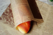 50pcs new paper Food Wrapping wax paper Gift packaging Greaseproof Baking Paper