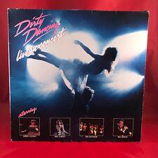 ORIGINAL SOUNDTRACK Dirty Dancing Live In Concert Vinyl LP EXCELLENT CONDITION