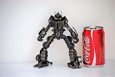 Metal Art Sculpture Scrap Metal Art Handmade Great Gift For Husband Robot (A)