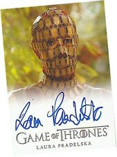 "Game Of Thrones Season 4 - Laura Pradelska as ""Quaithe"" Autograph/Auto Card"