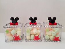 12 Mickey Mouse Fillable Blocks Baby Shower Favors Prizes Game Boy Decorations
