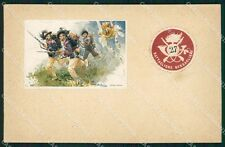 Militari 11º Reggimento Bersaglieri 27º Battaglione cartolina XF1283