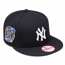 New Era New York Yankees Snapback Hat Cap SUBWAY 2000 World Series Side Patch