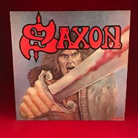 SAXON Saxon 1979  UK vinyl LP EXCELLENT CONDITION NWOBHM same self titled debut