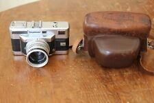 Vintage Voigtlander Vitessa T 35mm Rangefinder Camera w/ 2.8 Skopar Leather Case