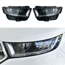 HID Headlights Fit For Ford EDGE 15-18 with LED DRL Bi-Xenon Projector Lens