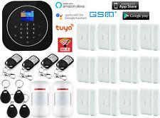 U03 WIFI Cloud APP GSM RFID Wireless Tuya DIY Home Security Alarm Burglar System