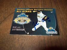 Josh Schmidt > Trenton Thunder - Autographed 2009 MultiAd Sport Card # 30