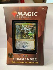Magic the Gathering Commander Deck Blütenwelk-Hexenwerk