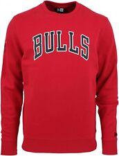 New Era - NBA Chicago Bulls Team Apparel Sweatshirt - Rot