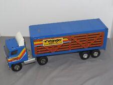 Ertl 1:16 Semi Trailer International Transtar Truck Wrangler Wranch Cheyenne WY