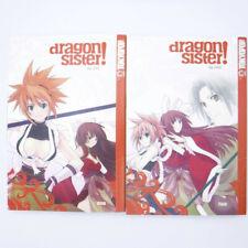 DRAGON SISTER! Vol. 1 & 2 Nini TokyoPop Manga Paperback Books English