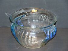 HUGE Peter Bramhall Signed Dated 1985 Studio Art Glass Bowl